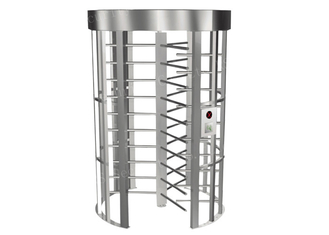 চীন Biometric Access Control Systems Revolving Door Turnstile With Single Channel সরবরাহকারী