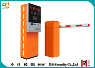 Car Station Access Control Boom Barrier Gate With Ticket Payment System