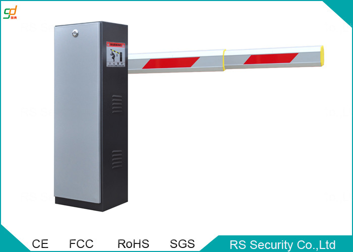100 Watt Road Safety Car Boom Barriers With Steel Door Material