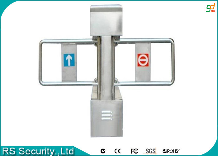 Double Retractable Swing Barrier Gate Self Examine On Breakdown