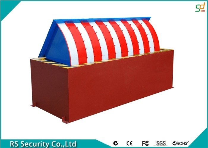 Remote Control Road Blocker Barricades Bollards Parking System