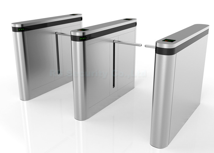 Automatic Drop Arm Barrier, Remote Control Sensor Turnstile Gate Bridge Type
