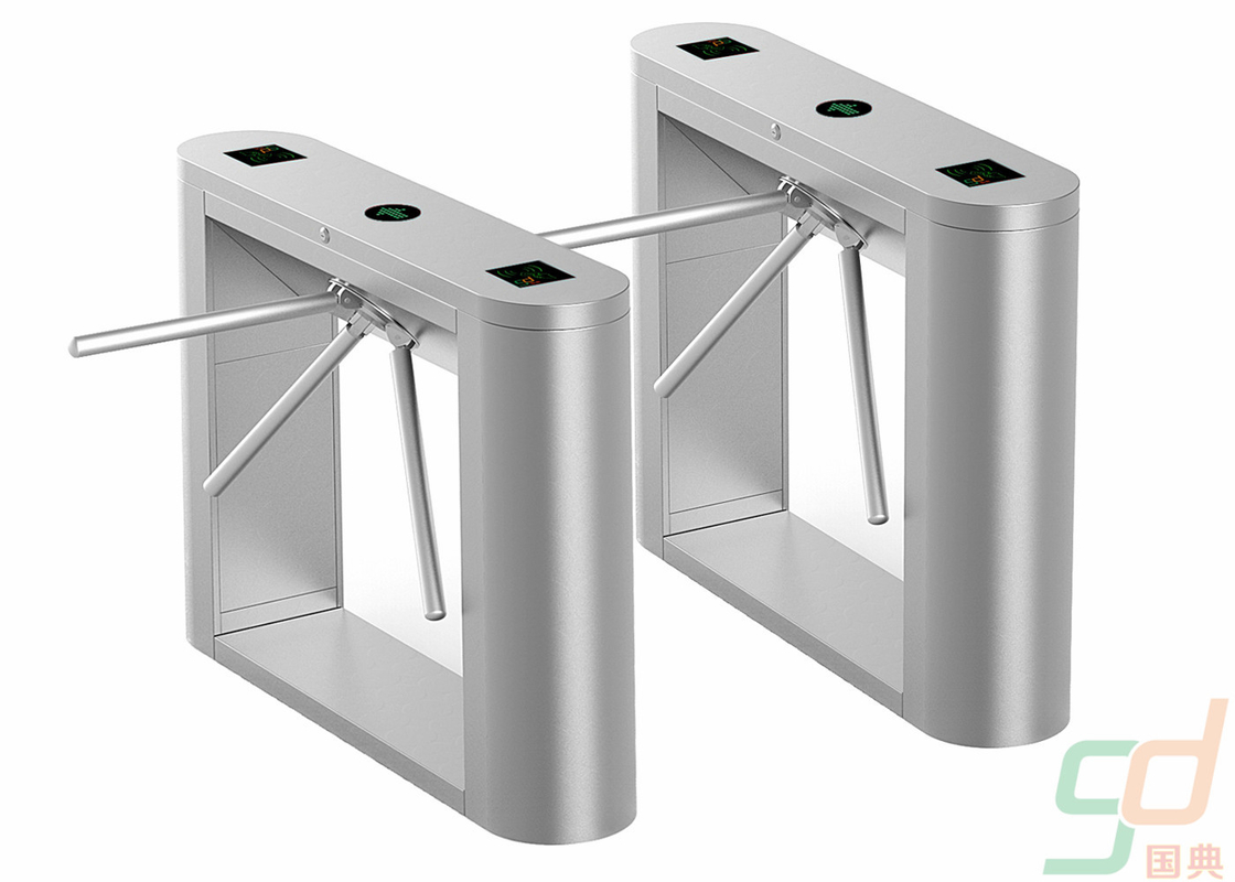 Access Control Tripod Turnstile Mechanism Automatic Barrier Gate CE Approved