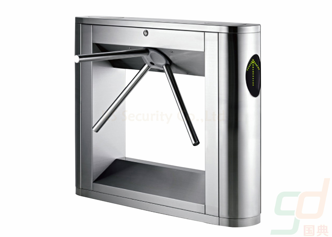 Semi Automatic Turnstile Security Gates , Airport Turnstile Pedestrian Access Control