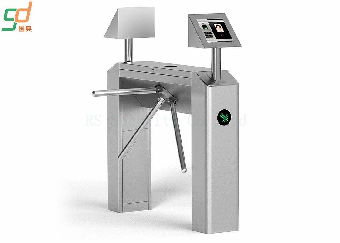 Stainless Steel Bi-Directional Tripod Turnstile Gate Pedestrian Security Gates