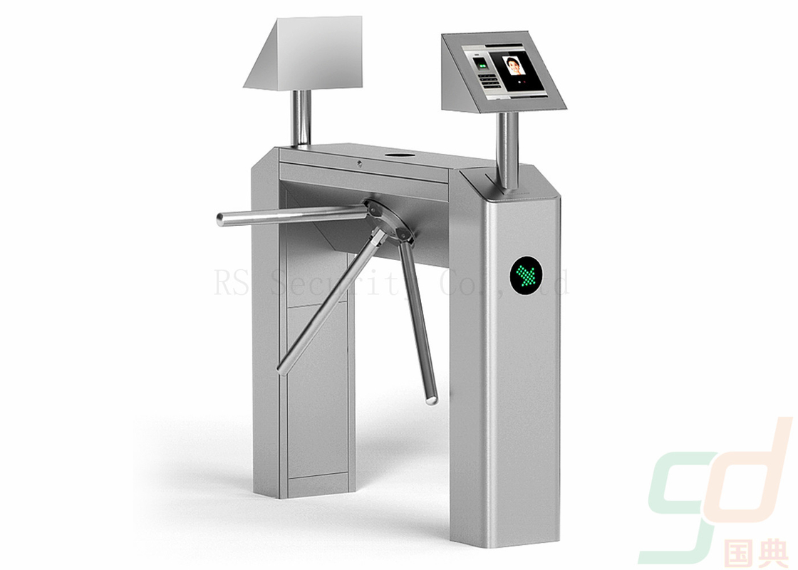 Semi Automatic Tripod Turnstile Security Systems, RFID Waist High Turnstiles
