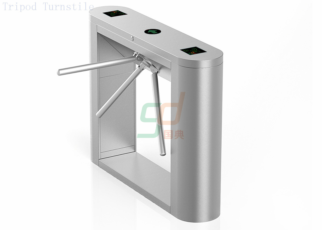 Durable Waist Height Turnstile Security System Privent Illegal Access