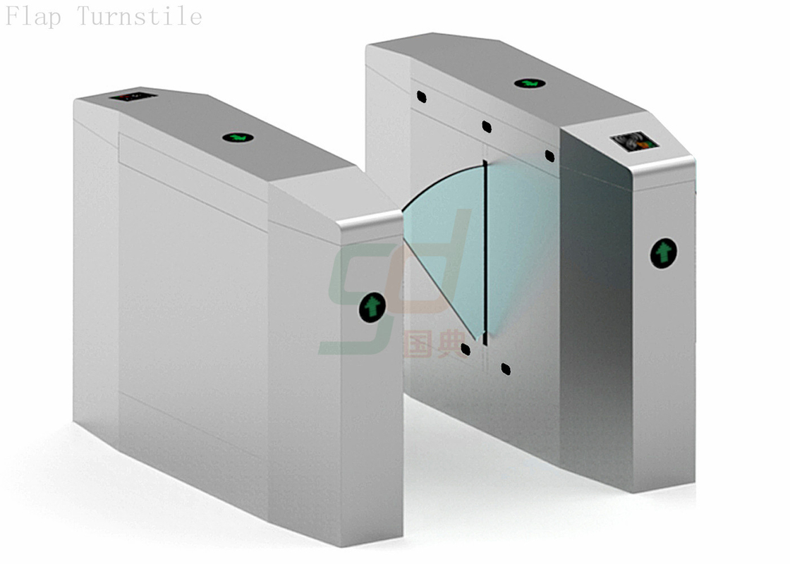 Counting Automatic Turnstiles Speed Gate, Retractable Flap Barrier Systems
