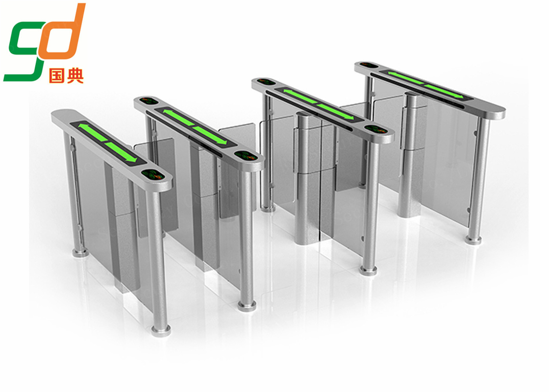Pedestrian Supermarket Entrance Gate For Door Access Control System