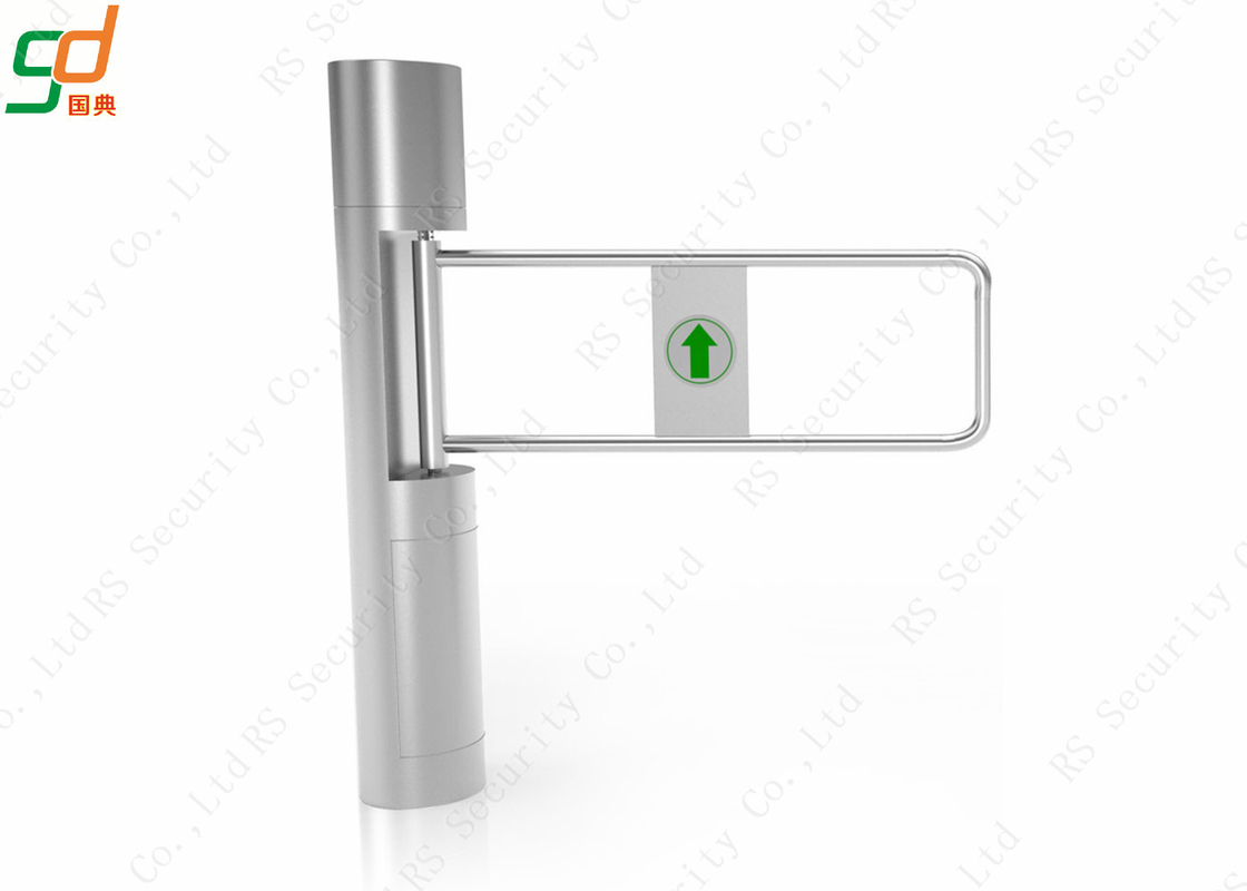 Appearance Automatic Turnstiles Smart Supermarket Swing Barrier Gate