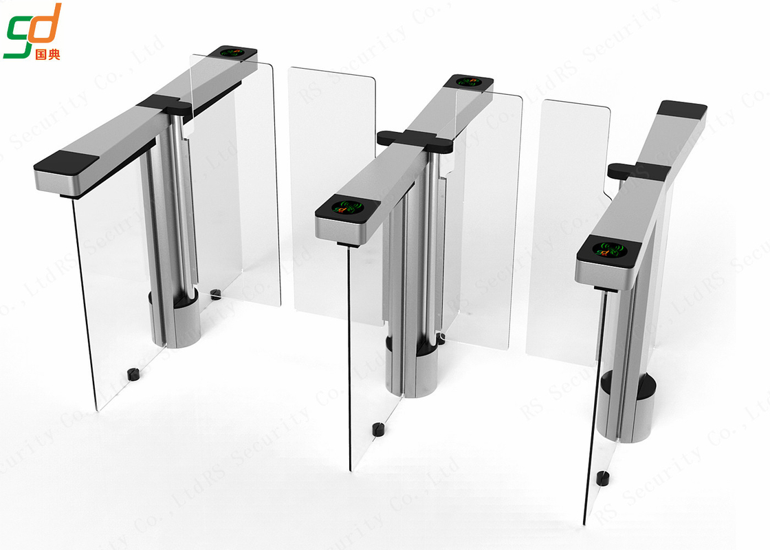 RFID Card Reader metal Automatic swing barrier gate Turnstile For School