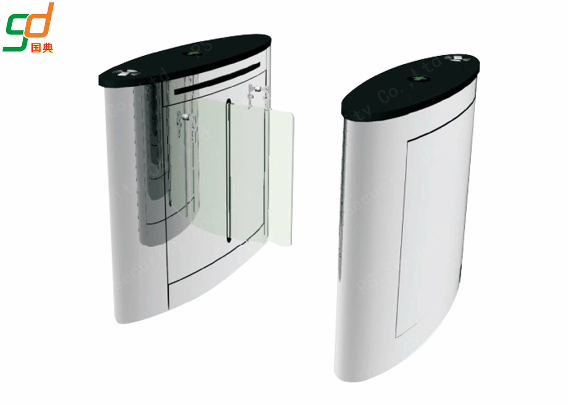 RFID Reader Turnstile Speed Gates, Waist Height  Turnstiles Flap Barrier