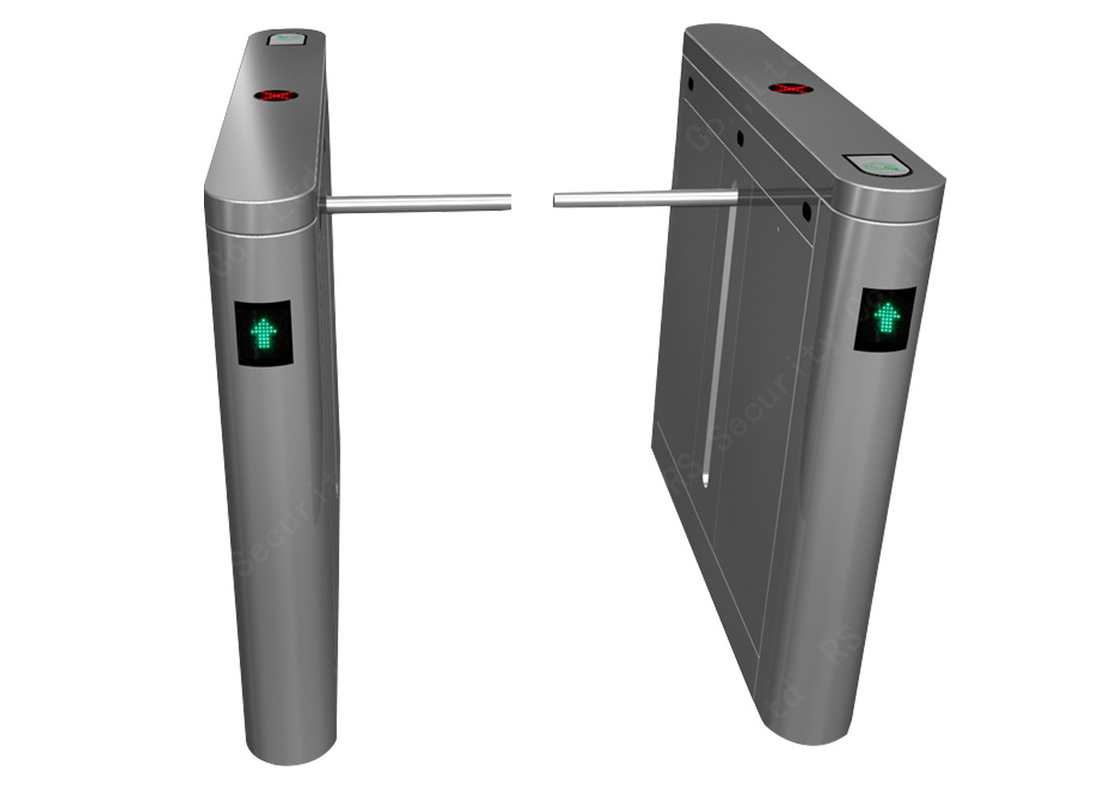 Processing Precision Drop Arm Barrier, Personnel Channel Management Turnstiles