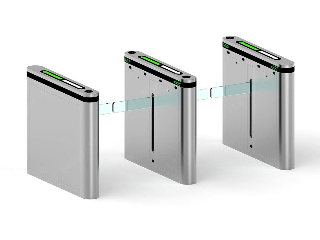 CE Intelligent Drop Arm Barrier , RS1009 Automated Security Gates For Access Control