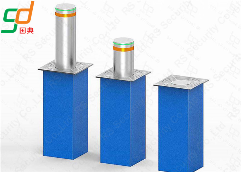 Traffic Barrier K8 Rated Steel Hydraulic Bollards Traffic Barrier For Remote