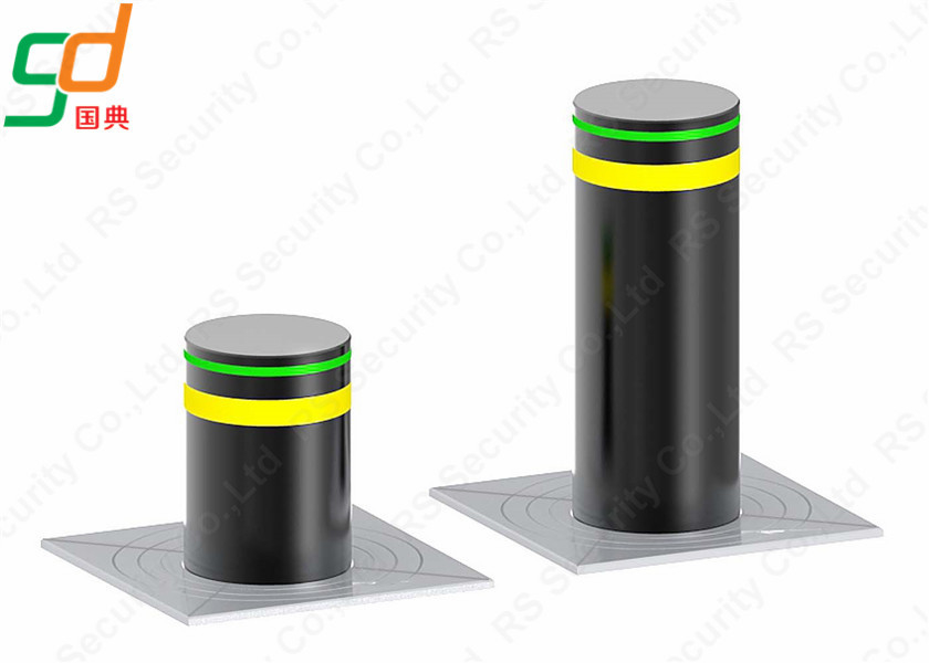 K12 Rated Telescopic Hydraulic Bollards Traffic Barriers In Spanish