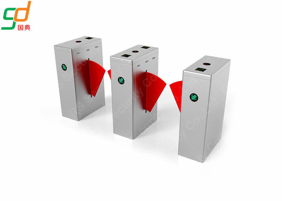 Anti-pinch Anti-Collision Flap Barrier Gate Turnstile Metro Pedestrian সরবরাহকারী