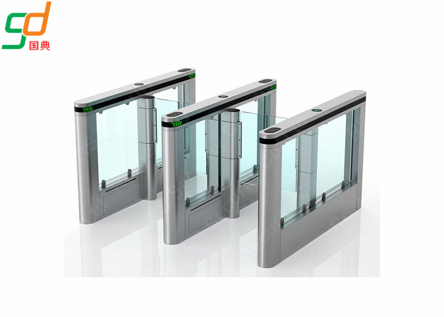 চীন Full Automatic Supermarket Swing Gate Barrier Entrance Control RFID Turnstile কারখানা