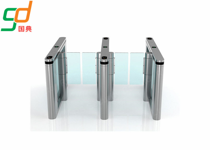 চীন RFID Secured  Swing Barrier Gate With IR Sensor Control Intelligent Pedestrian কারখানা