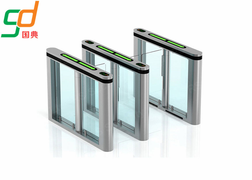 চীন Retractable Automatic Turnstiles Library Security Gate High Smart Barrier Gate কারখানা