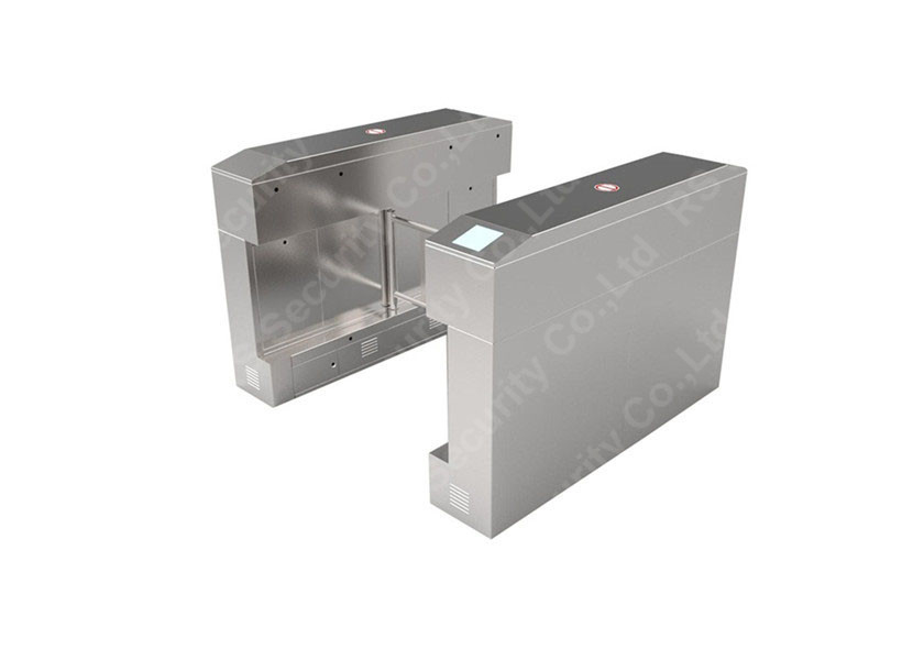 চীন Intelligent High Security Swing Barrier Gate Optional Bridge Turnstiles কারখানা