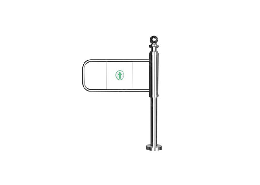 চীন Uhf Electronic Security Flap Barrier Turnstile Pedestrian Barrier Gate কারখানা
