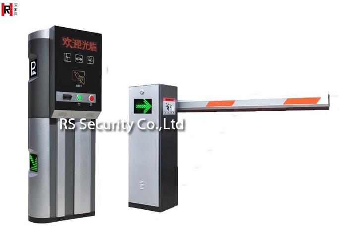 Outdoor Smart Road Traffic Boom Barrier Gate Driveway Gates With Singer Bar
