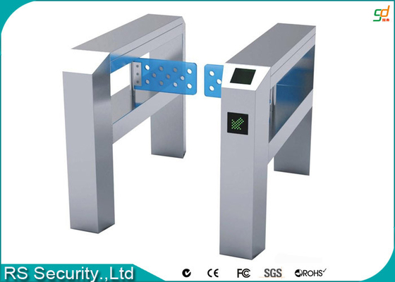 Automatic Crowd  Retractable Barrier Gate Pedestrian Swing Turnstiles