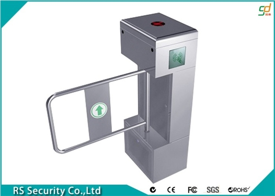 Portable RFID Secured Retractable Barrier Gate Automatic Swing Turnstiles