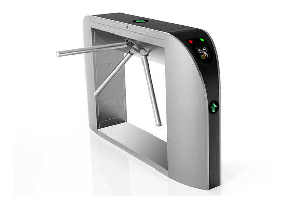 Card Reader Automatic Turnstiles For Exhibition Electronic Turnstiles Tripod Turnstile
