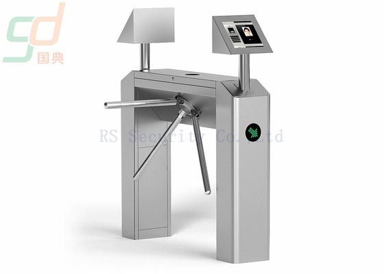 Full Automatic Tripod Turnstile Gate, Security Turnstyle Barrier Access Control