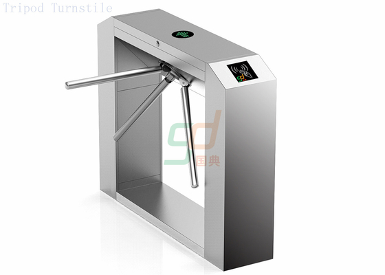 Fingerprint Elegant Waist Height Turnstiles Bi-directional Access Control