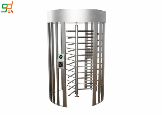 Stainless Steel Full Height Turnstiles Bi-direction Access Control Gate Turnstile