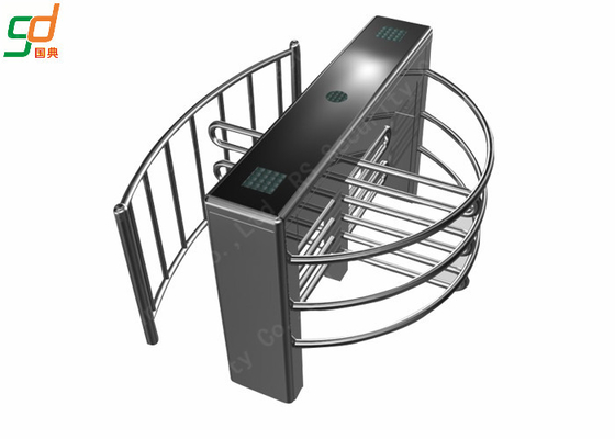 304 Stainless Steel Full Height Turnstiles Access Control System Turnstyle