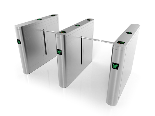 Emergency Drop Arm Barrier Gate Pedestrian IR Sensor Turnstile