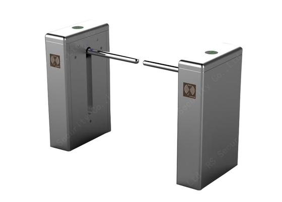 Remote Control Drop Arm Barrier , Pedestrian Wheelchair Turnstiles