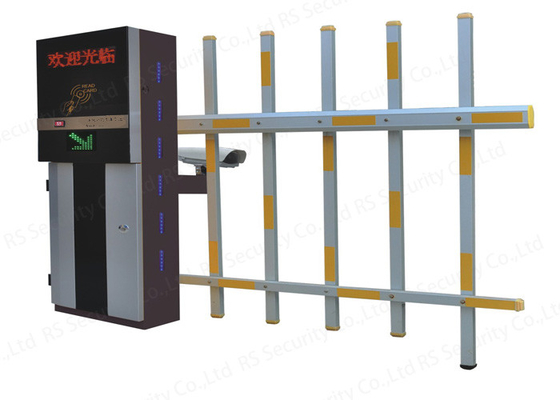 RFID Automated  Fence Boom Barrier Gate Remote Control Metal Boom Door